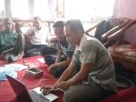 Itok sedang installasi software DDS HF
