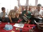 Dari kiri P.Sarimo Kediri ,P.Imam Lumajang ,P.Tingting Surabaya