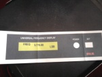 PrintOut Stiker untuk ditempelkan pada box rangkaian Universal Frekwensi Counter