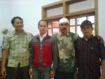 Dari kiri P.Yayan Pamekasan, Itok Malang, P.Herman Jember, P.Yonta Jember