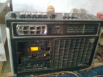 Radio - Tape Recorder JVC untuk Monitoring